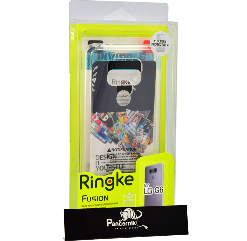 Etui Rearth Ringke Fusion lg g6, crystal view