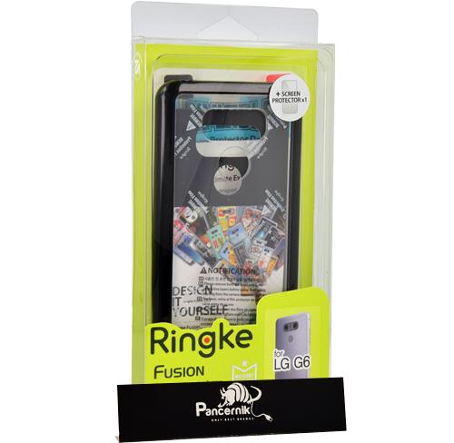 Etui Rearth Ringke Fusion lg g6, ink black