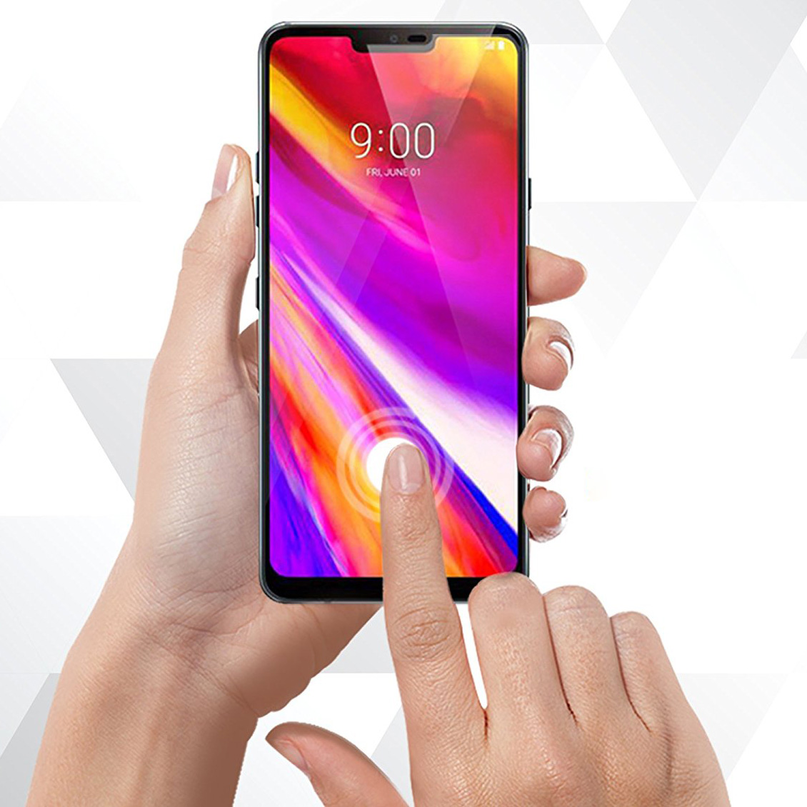Szkło hartowane Whitestone DOME Glass do LG G7 ThinQ