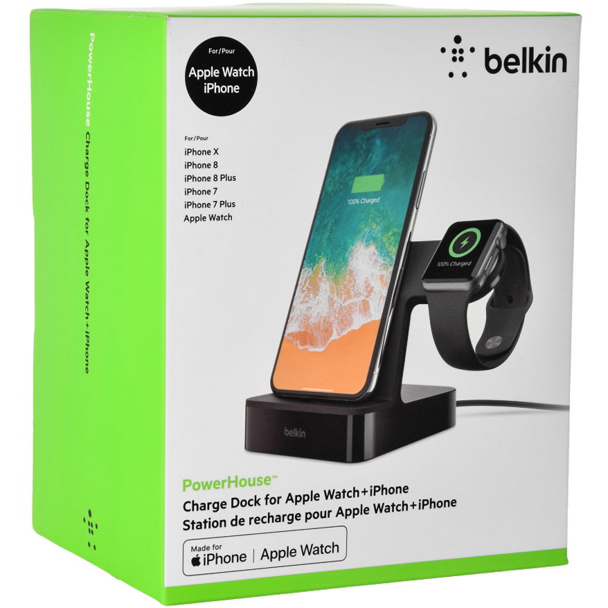 Ładowarka Belkin PowerHouse Charge Dock Apple Watch, Apple iPhone