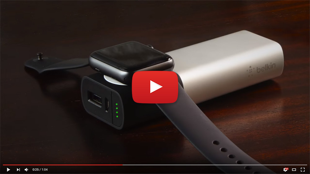 Ładowarka PowerBank Belkin Valet Charger Apple Watch iPhone