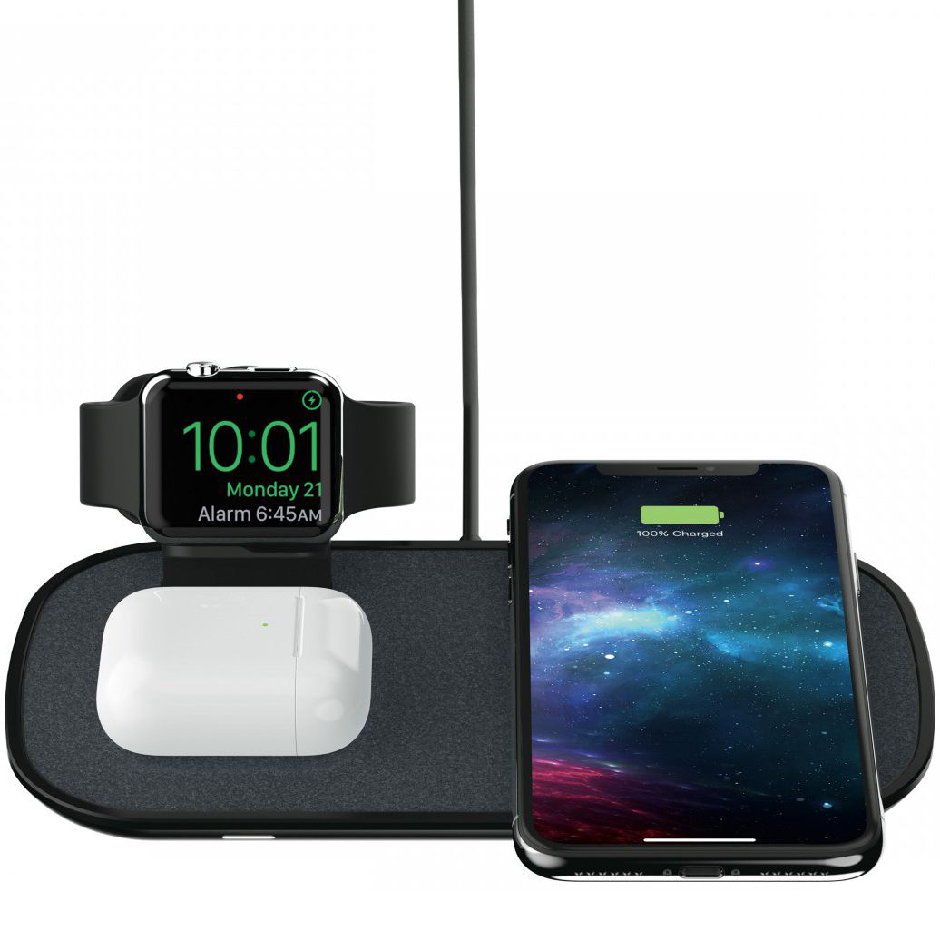Ładowarka Mophie Wireless Charging Pad dla Apple AirPods, Apple Watch, Apple iPhone