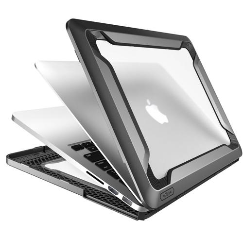Etui Supcase Nexcase Full-Body Rugged Hybrid MacBook Pro 13 Retina, czarny black