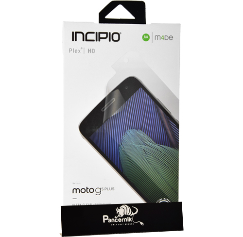 folia na ekran incipio screen protector crystal moto g5 plus