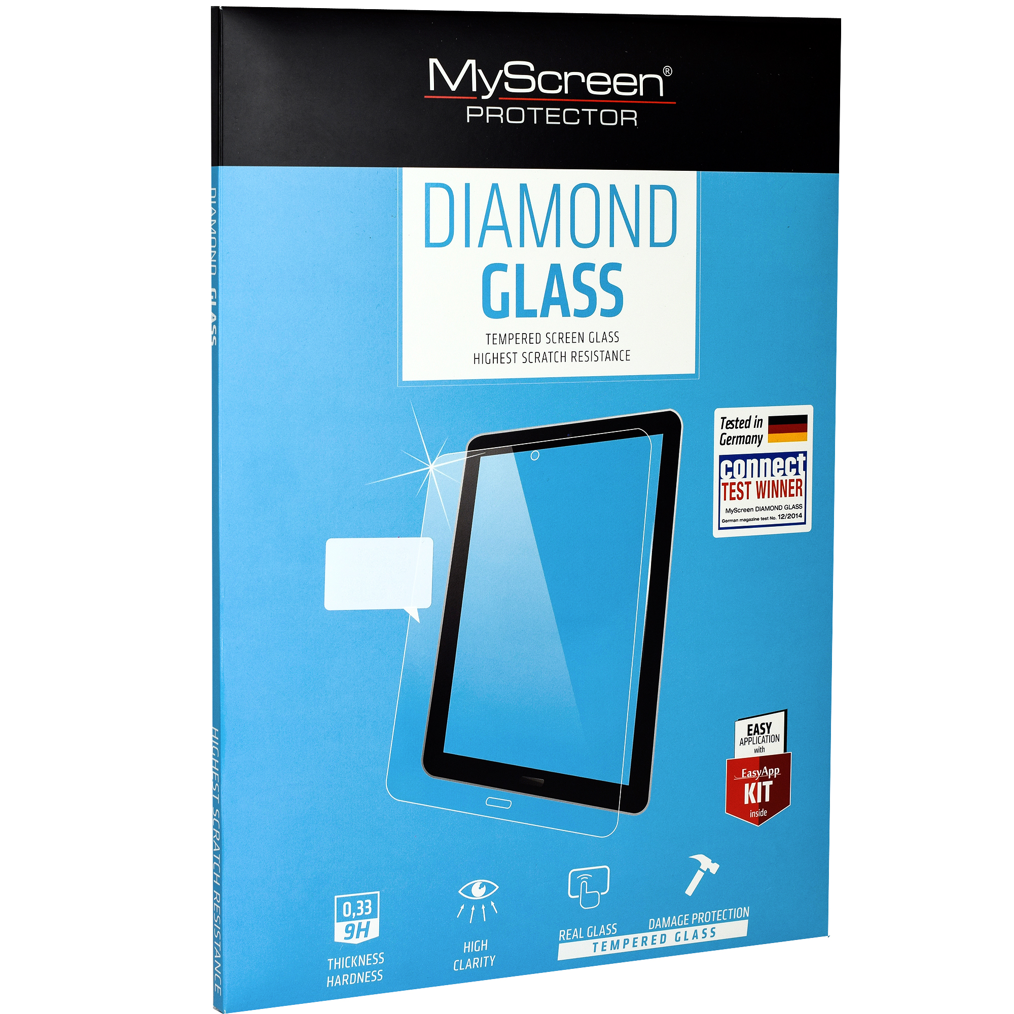 Szkło ochronne MyScreen Diamond Glass do Galaxy Tab A 10.1 2019 (T510)