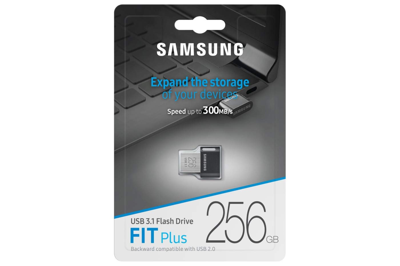 Oryginalny Pendrive Samsung Fit Plus 256GB.