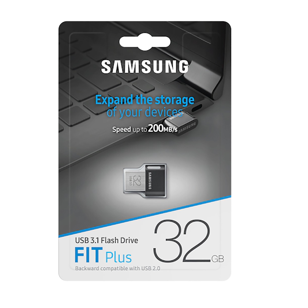 Oryginalny Pendrive Samsung Fit Plus 32GB.