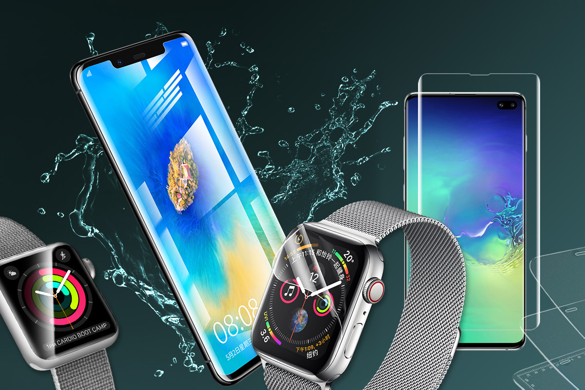 Folia hydrożelowa na ekran Rock Hydrogel Screen Film do Apple Watch 38mm Series 3/2/1