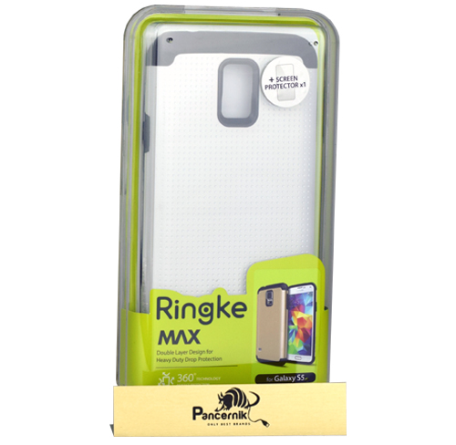 Etui Ringke MAX samsung galaxy s5/s5 neo pearl white