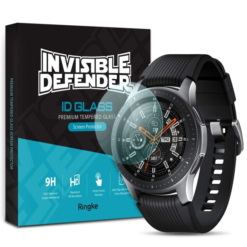 Szkło hartowane na ekran Ringke Invisible Defender Glass dla Galaxy Watch 46mm / Gear S3, 4 sztuki