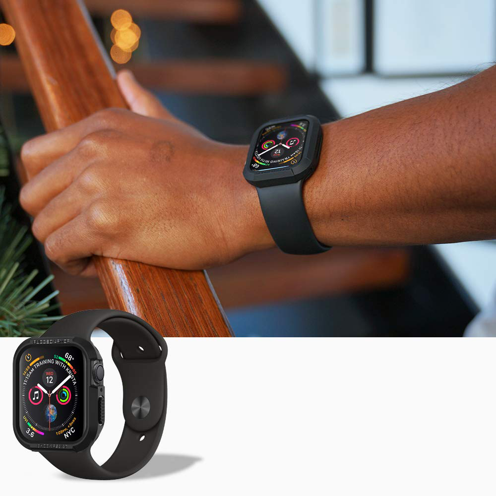 pretty nice 2d78e 24756 Etui Spigen Rugged Armor Apple Watch 4 - 44mm, czarne