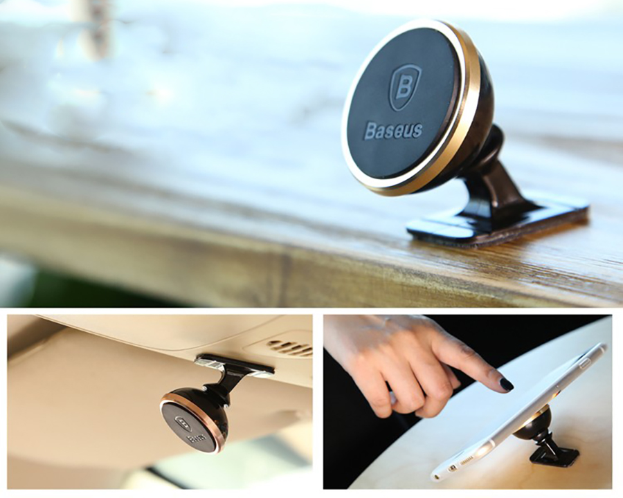 Uchwyt magnetyczny Baseus 360 Rotation Magnetic Car Mount SUGENT-NT0R