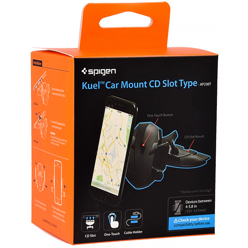 Uchwyt Car Mount Spigen Kuel CD Slot AP230T