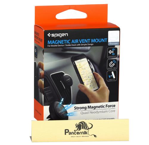 uchwyt magnetyczny samochodowy spigen air vent mount do kratki nawiewu