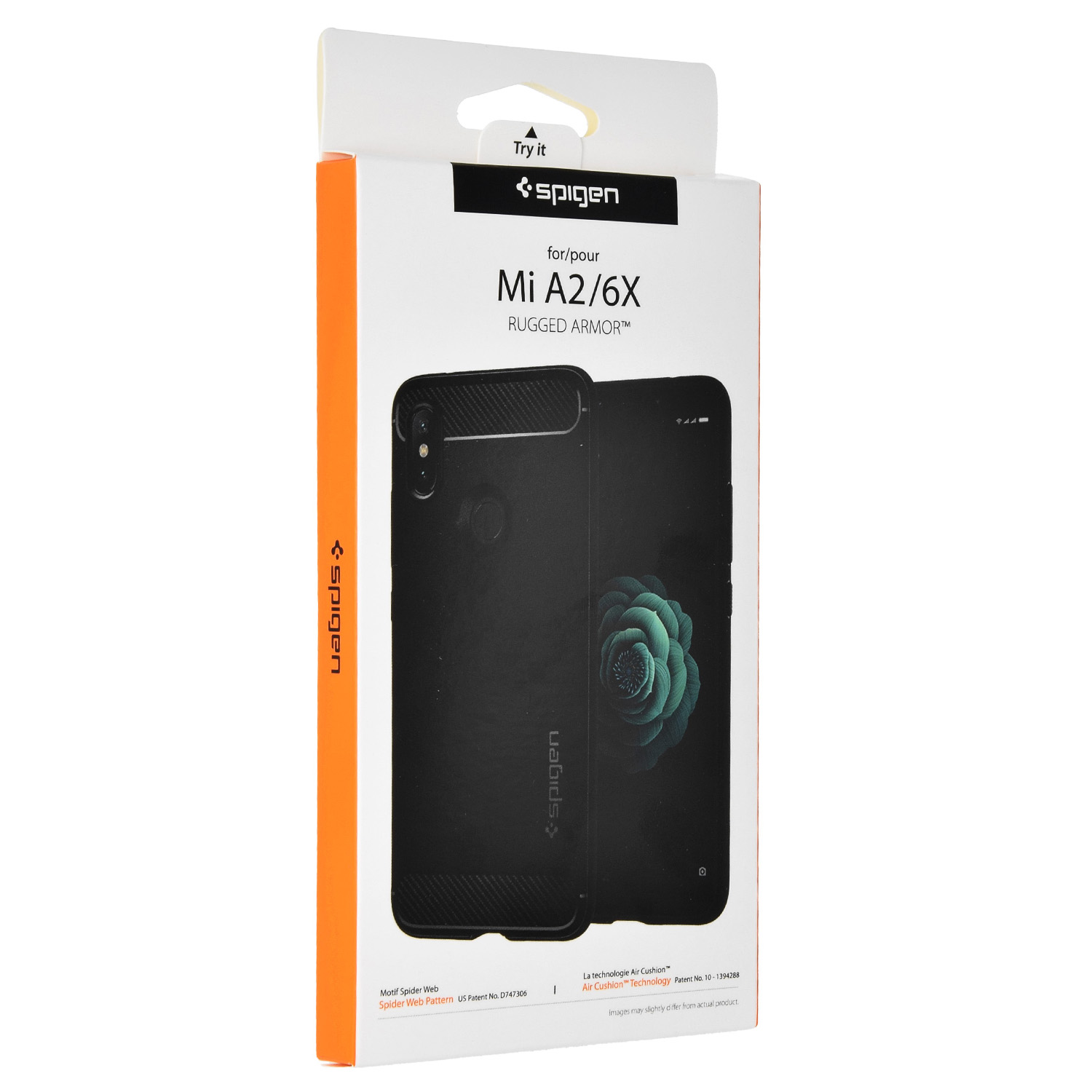 low priced 89cda 3fe7b Etui Spigen Rugged Armor Xiaomi Mi A2 / 6X, czarne