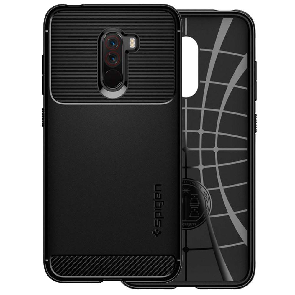 wholesale dealer c55d1 161b8 Details about Spigen Rugged Armor   Etui - Cover - Case - Schutzhüllase    Xiaomi Pocophone F1