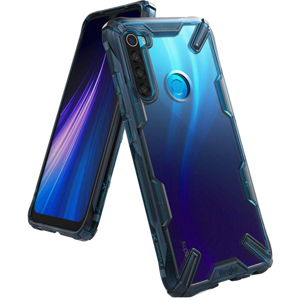 Etui Rearth Ringke Fusion X do Xiaomi Redmi Note 8