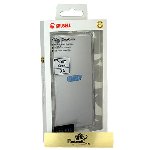 Krusell kivik Clear Cover Sony xperia xa przezroczyste etui