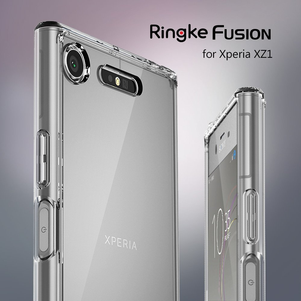 Etui Rearth Ringke Fusion do Sony Xperia XZ1