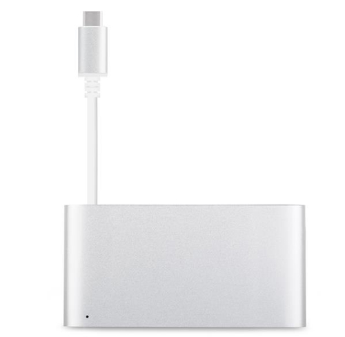 Adapter, przejściówka Moshi USB-C Multiport Adapter  Macbook Retina 12 Pro Retina 13 15 2016  silver, gold, rose
