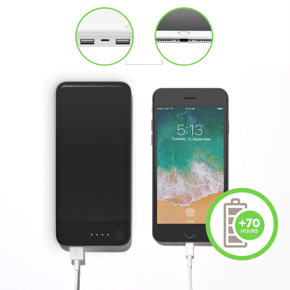 Oryginalna bateria Belkin Boost Charge Power Bank 10K Lightning 10000mAh +Cable