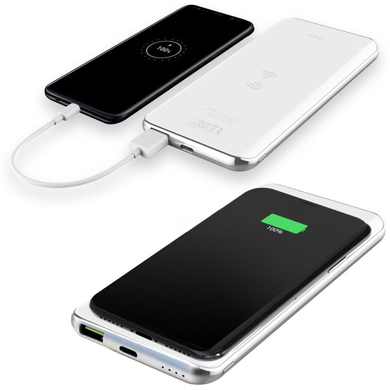 Oryginalna bateria Puro Wireless Slim Power Bank Qi 8000mAh