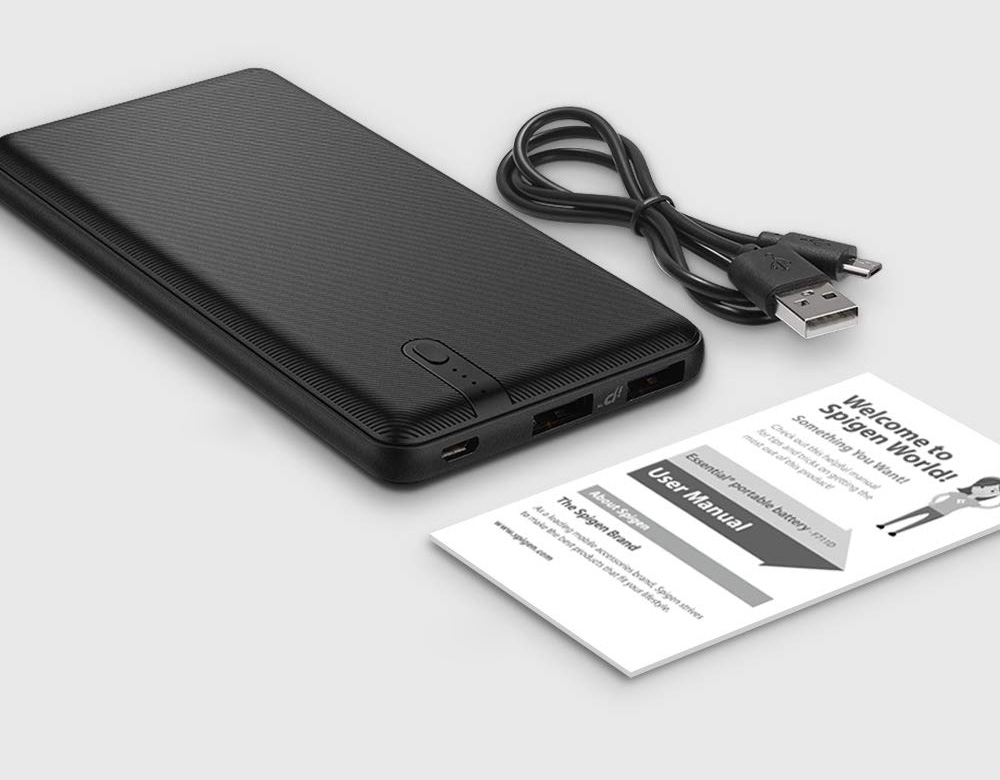 Oryginalna bateria Spigen Essential Power Bank F711D 10000mAh