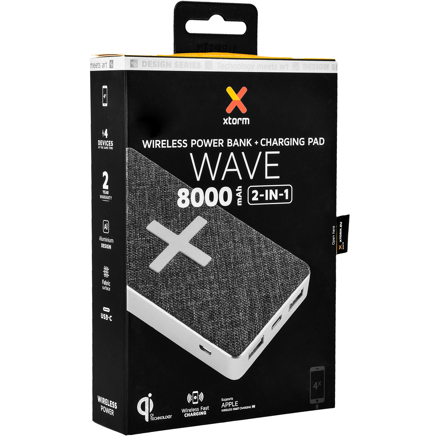 Oryginalna bateria ładowarka Xtorm Wireless Power Bank Wave 8000mAh