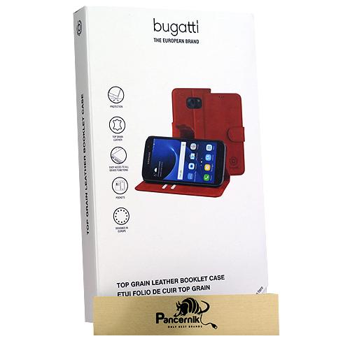 Bugatti booklet case Amsterdam czerwone