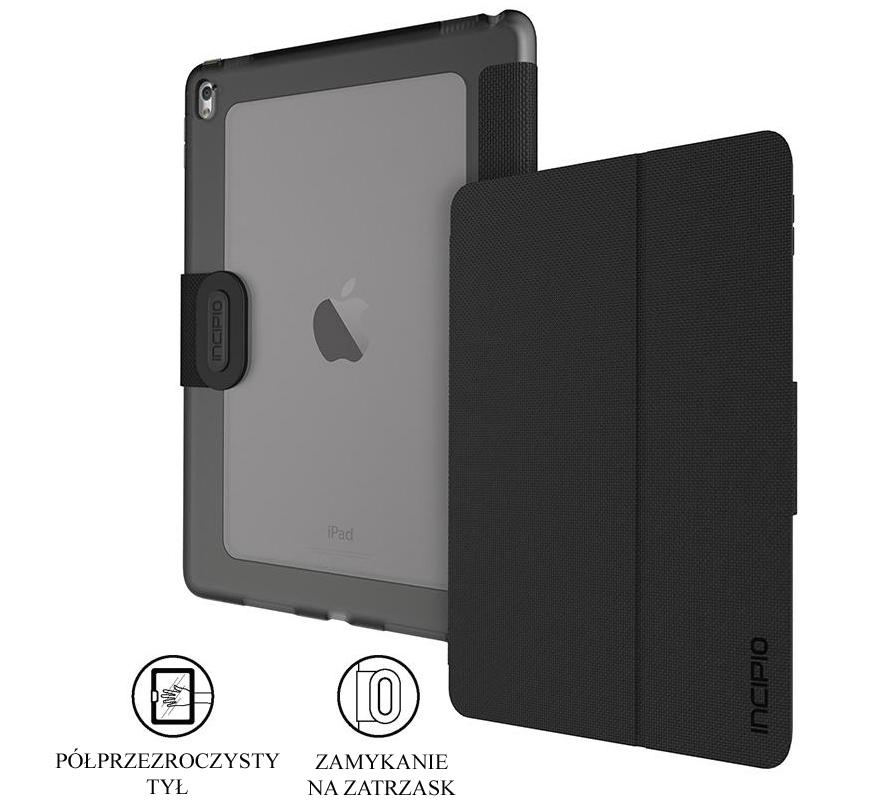 Etui Incipio Clarion czarne iPad Pro 9.7