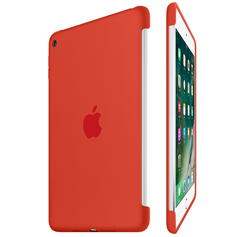 Etui Apple Silicone Case iPad mini 4, pomarańczowe