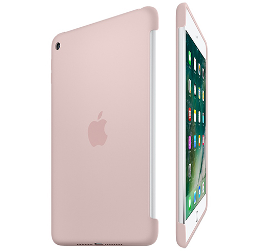 Etui Apple Silicone Case iPad mini 4, różowe
