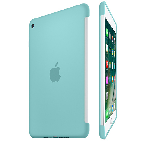 Etui Apple Silicone Case iPad mini 4, morskie