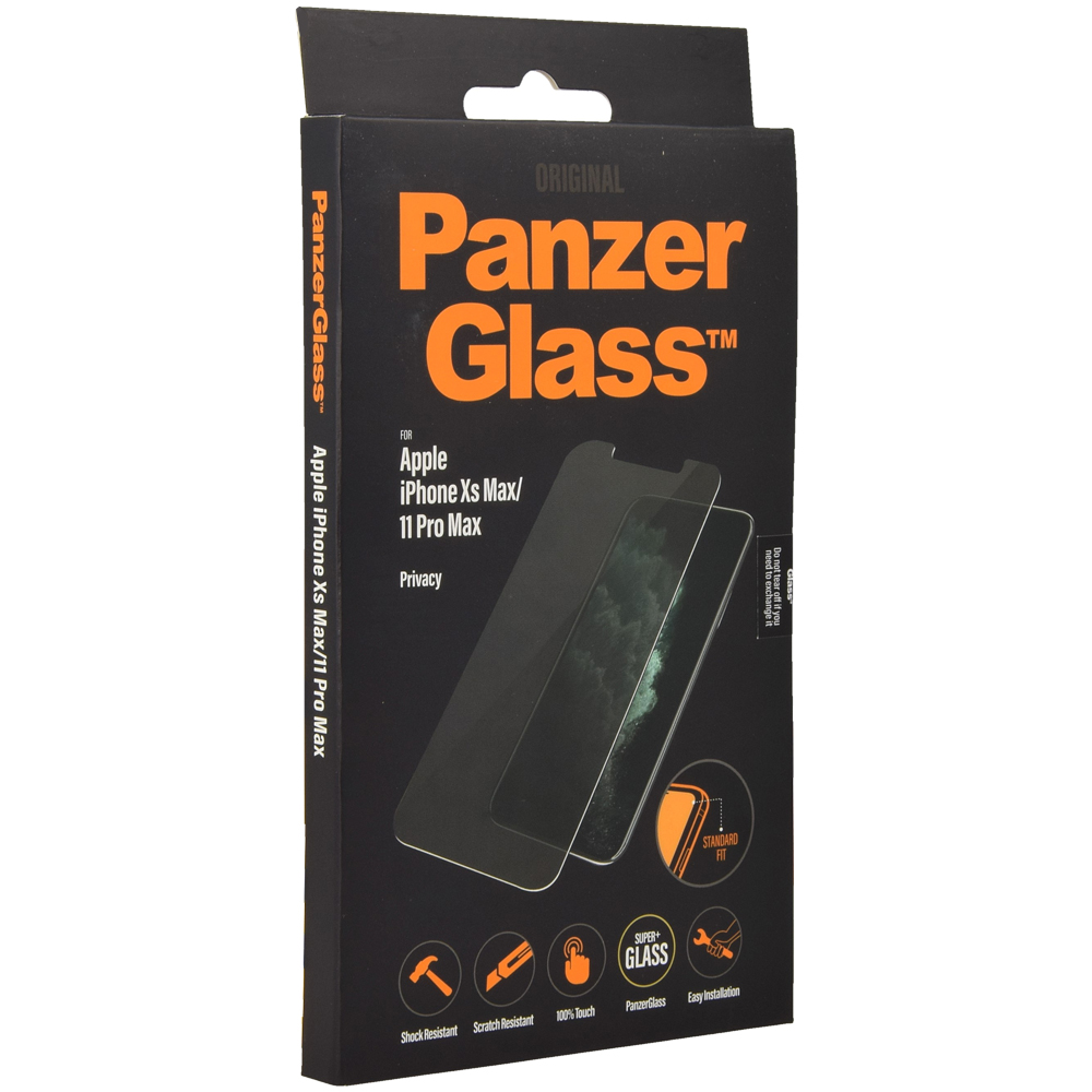 Szkło hartowane PanzerGlass Privacy Filter do iPhone Xs Max / 11 Pro Max