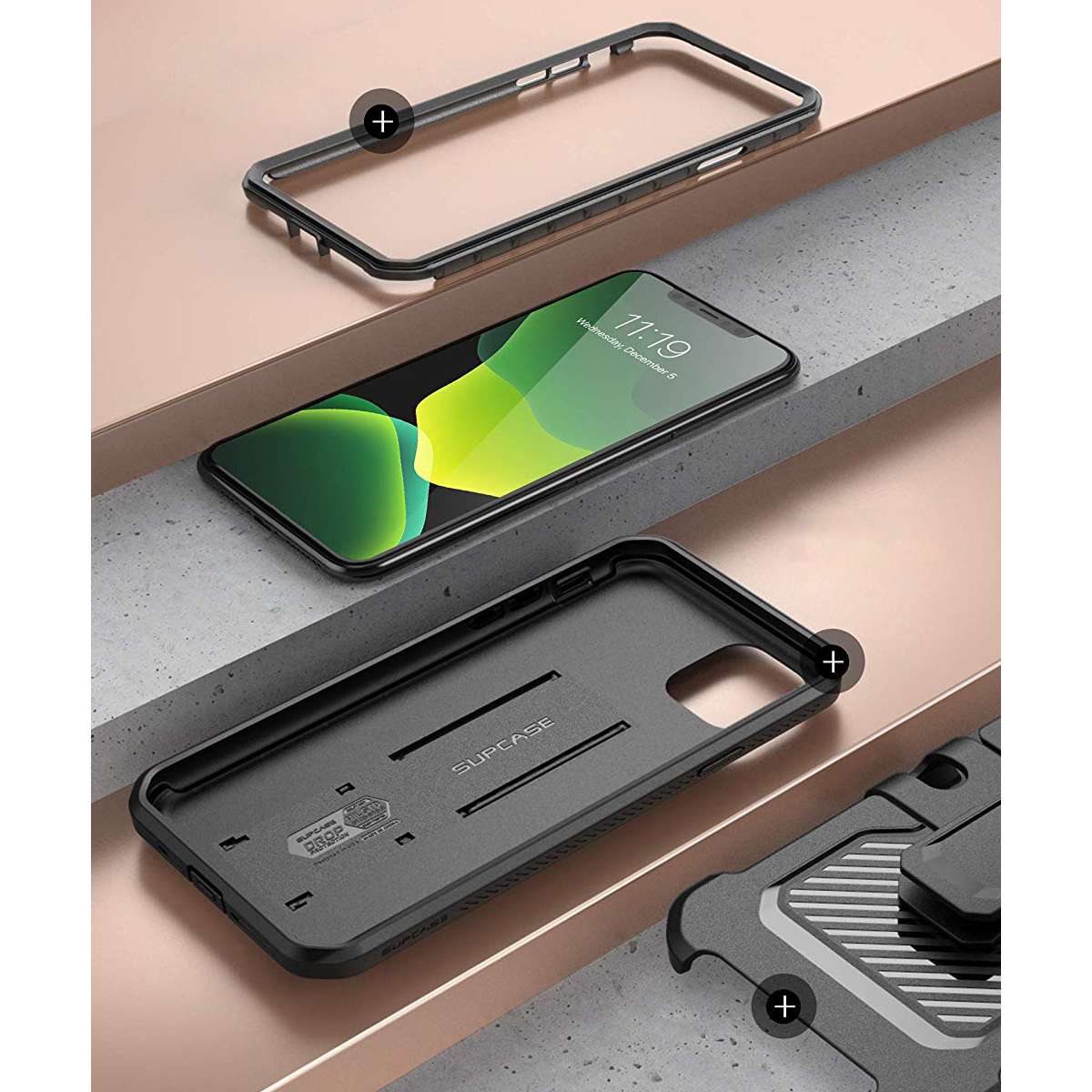 Etui pancerne Supcase Unicorn Beetle Pro dla iPhone 11
