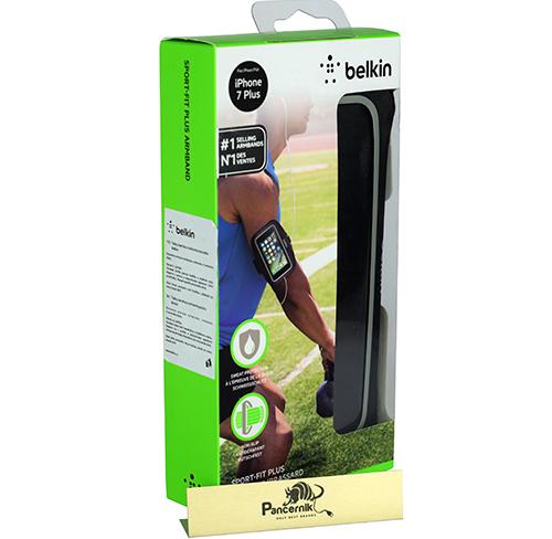 Etui Opaska na ramię Belkin Sport-Fit Plus iPhone 7 Plus, czarna