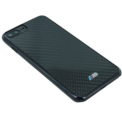 Etui czarne BMW M CG Mobile iphone 7 plus real carbon