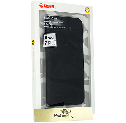 Krusell Bello Cover iPhone 7 Plus czarne