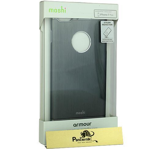 Etui Moshi Amour iPhone 7 plus gunmetal gray