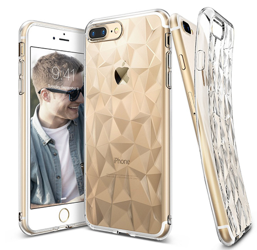 Etui Rearth Ringke Air Prism Apple iPhone 7 Plus, Clear + Folia