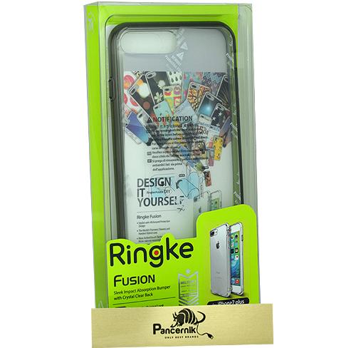 Etui Ringke Fusion iphone 7 Plus crystal view