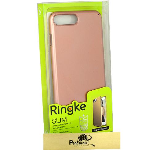 Etui Ringke SlimApple iPhone 7 Plus różowe złoto, rose gold
