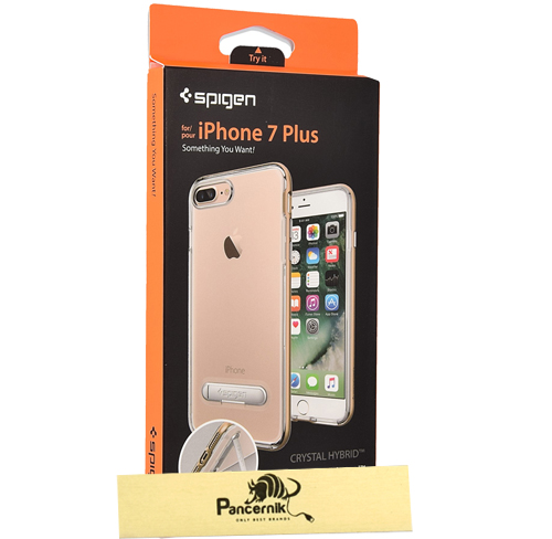 Etui Spigen crystal hybrid  iphone 7 plus champagne gold