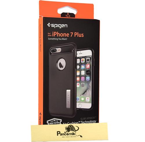 Spigen slim armor iphone 7 Plus black czarne
