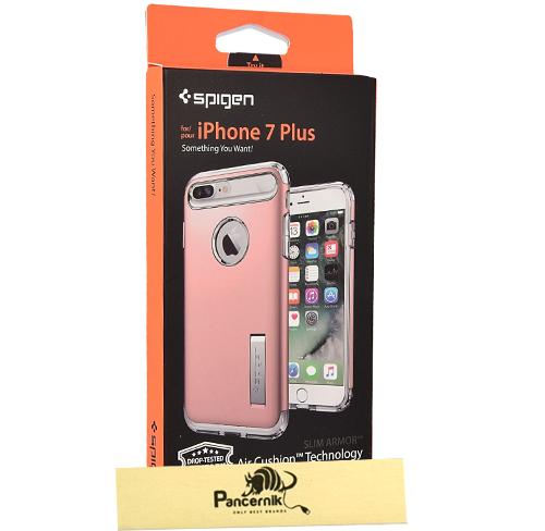 Spigen slim armor iphone 7 Plus rose gold, różowe złoto