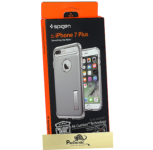 Spigen slim armor iphone 7 Plus satin silver