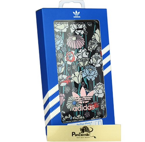 Adidas booklet case iphone 7 czarne
