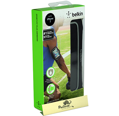 Etui Opaska na ramię Belkin Sport-Fit Plus iPhone 7, czarna