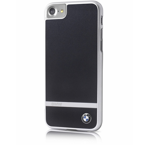 Etui BMW Aluminium Stripe Hard Case iPhone 7, czarne