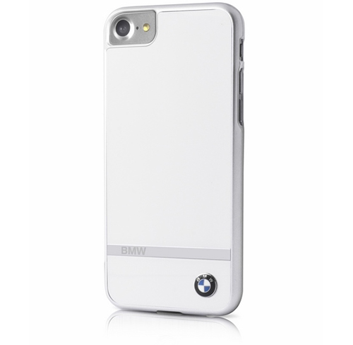 Etui BMW Aluminium Stripe Hard Case iPhone 7, białe